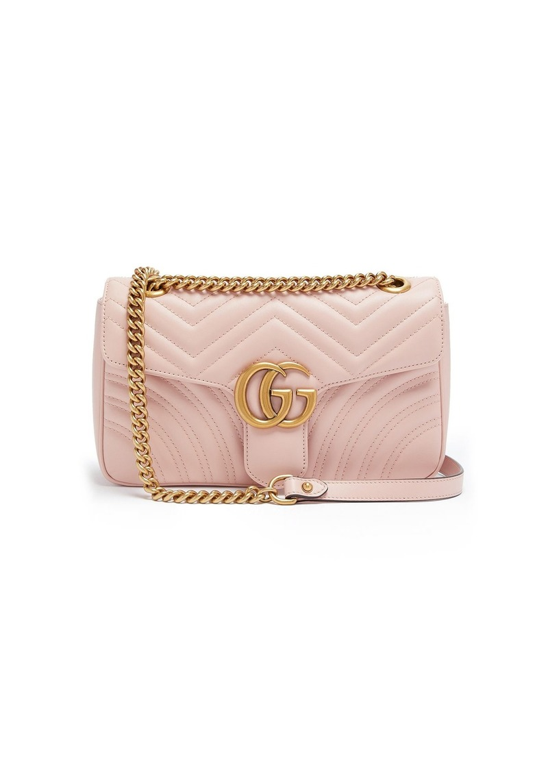 444e2786f5b6 Gucci Gucci GG Marmont small quilted-leather shoulder bag | Handbags