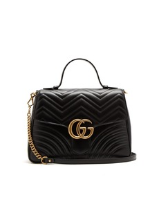 Gucci GG Marmont small quilted-leather shoulder-bag
