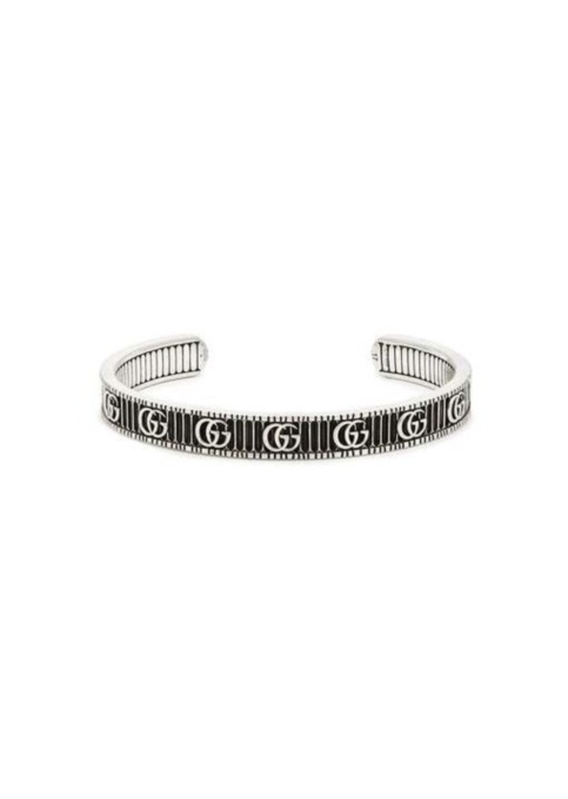 Gucci GG Marmont sterling silver bracelet