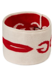 Gucci GG Mouth Wool Mask
