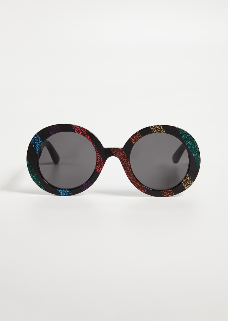 Gucci GG Oval Sunglasses