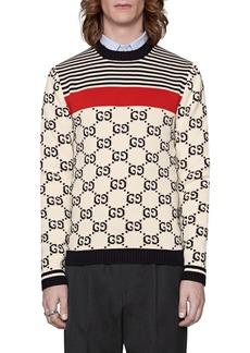 Gucci GG Pattern Crewneck Sweater