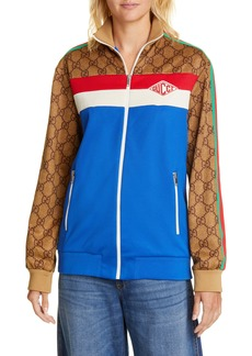 Gucci GG Print Technical Jersey Track Jacket