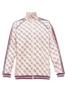 Gucci GG-print Web-striped jersey track-top