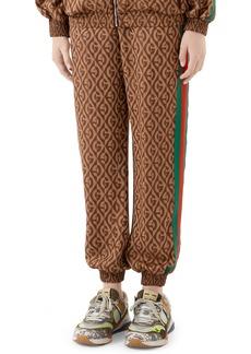 Gucci GG Rhombus Jacquard Jersey Jogger Pants