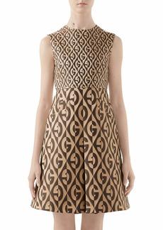 Gucci GG Rhombus Jacquard Minidress