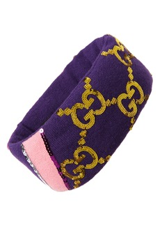 Gucci GG Sequin Headband