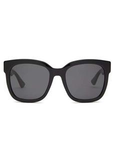 Gucci GG square acetate sunglasses