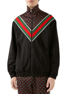 Gucci GG Star Print Technical Jersey Jacket