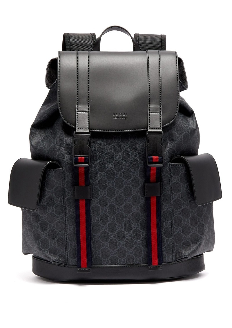 eb06cbea8ffd Gucci Gucci GG Supreme canvas and leather backpack | Bags