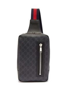Gucci GG Supreme leather cross-body bag