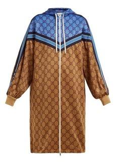 Gucci GG technical-jersey hooded dress