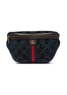 Gucci GG velvet belt bag