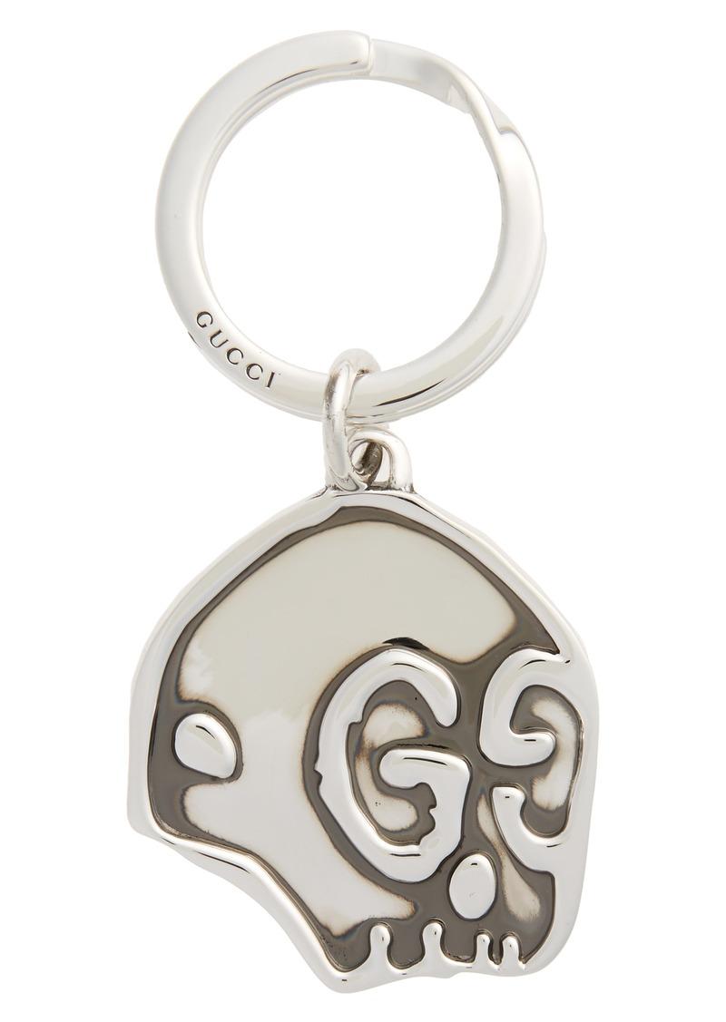 e30949fe59b Gucci Gucci Ghost Sterling Silver Keyring