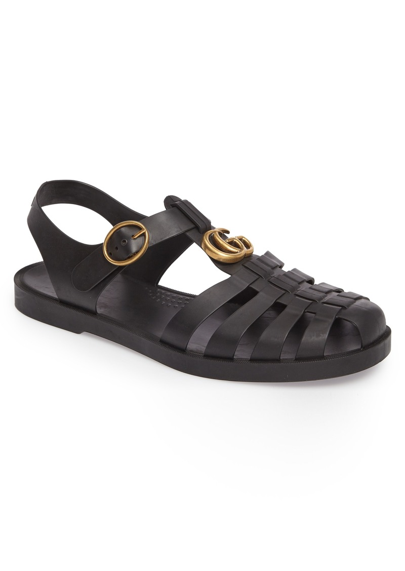 Gucci Gucci Glossy Fisherman Sandal (Men)