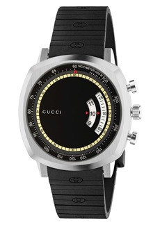Gucci Grip Chronograph Watch; 40mm