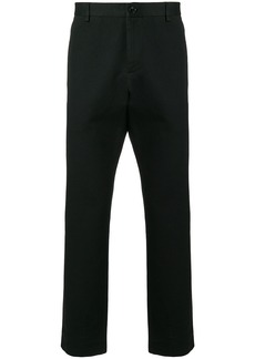 Gucci logo stitched tailored trousers