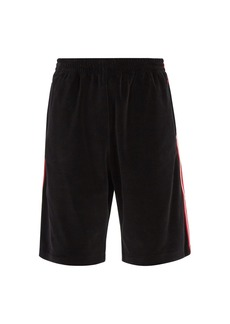 Gucci Gucci side-stripe shorts