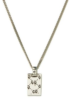 Gucci GucciGhost sterling-silver necklace