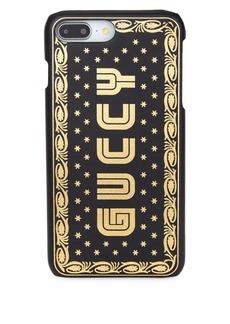 Gucci Guccy Print iPhone 7/8 in SEGA® Font