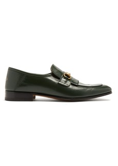 Gucci Harbor leather loafers