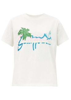 Gucci Hawaii-print cotton-jersey T-shirt