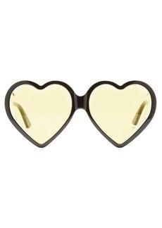Gucci Heart acetate sunglasses