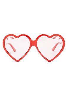 Gucci Heart-shaped frame sunglasses