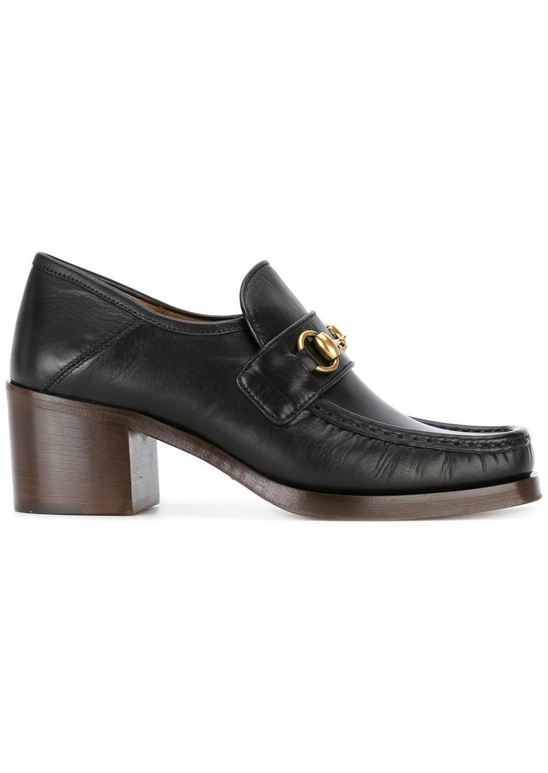 c7cb8dfa4 Gucci Gucci high-heeled loafers - Black | Shoes