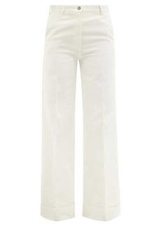 Gucci High-rise flared-leg jeans
