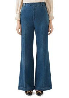 Gucci High Waist Flare Jeans