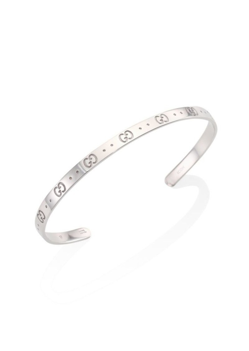 f9a701a1c Gucci Icon Sterling Silver Bangle Bracelet | Jewelry