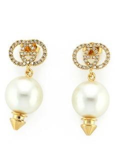 Gucci Imitation Pearl Drop Earrings
