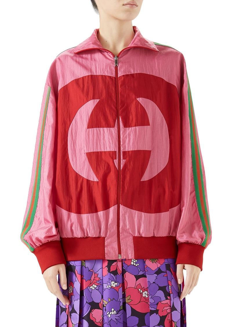 Gucci Interlocking-G Technical Nylon Jacket