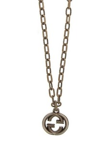 Gucci Interlocking GG pendant necklace