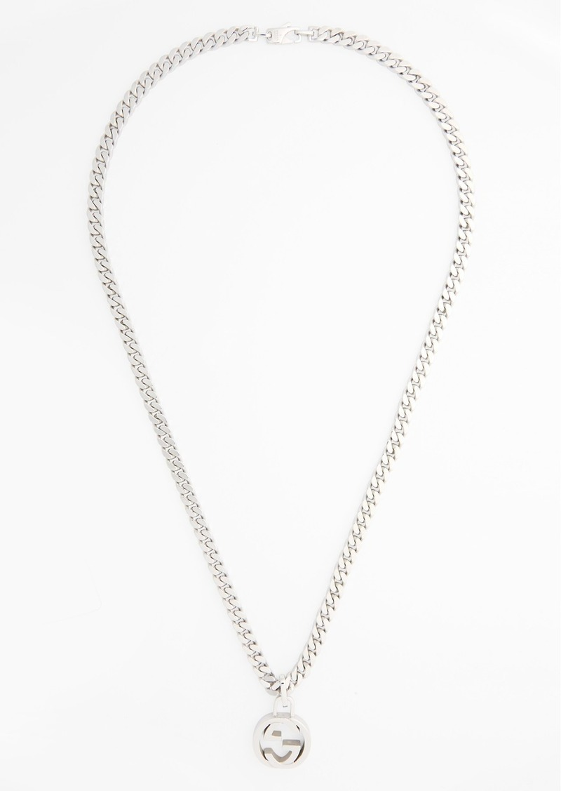 Gucci Interlocking Pendant Necklace