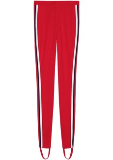 Gucci Jersey stirrup legging with Web