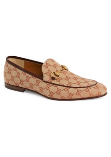 Gucci Jodraan GG Canvas Loafer (Men)