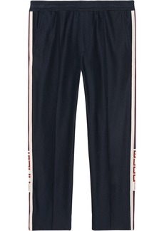 Jogging pant with Gucci stripe