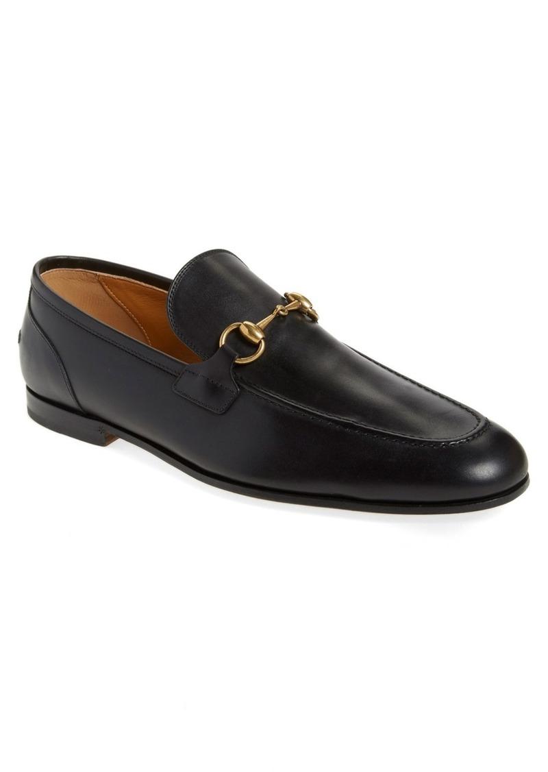 Gucci Jordaan Bit Loafer (Men)