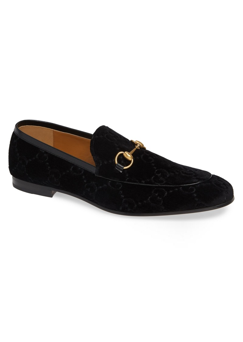 d6f49d54ca Jordaan GG Velvet Loafer (Men)