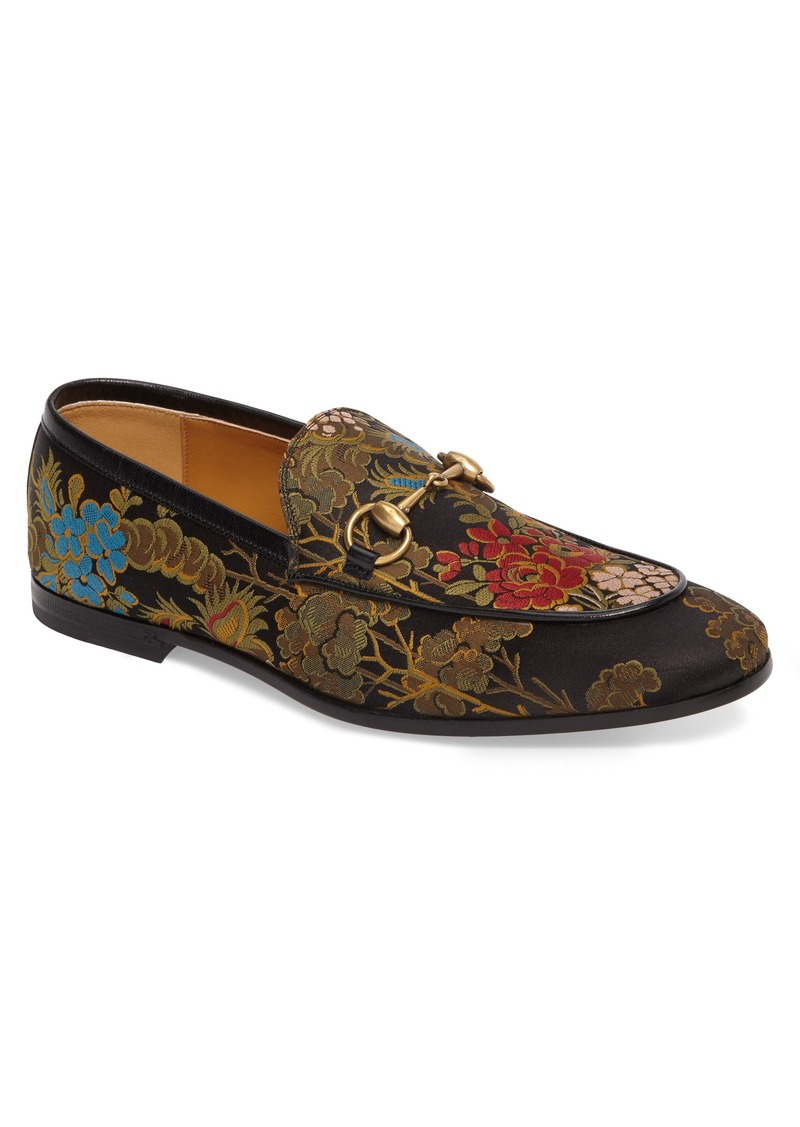 5fb84395264 Gucci Gucci Jordaan Jacquard Loafer (Men)