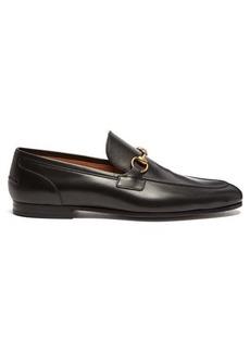 Gucci Jordaan Horsebit leather loafers