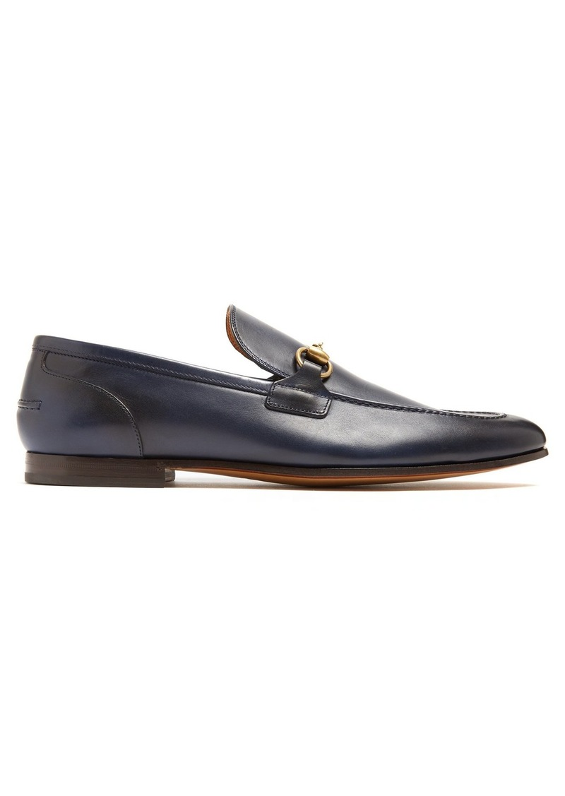 5b299759632 Gucci Gucci Jordaan leather loafers