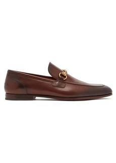 Gucci Jordan horsebit leather loafers