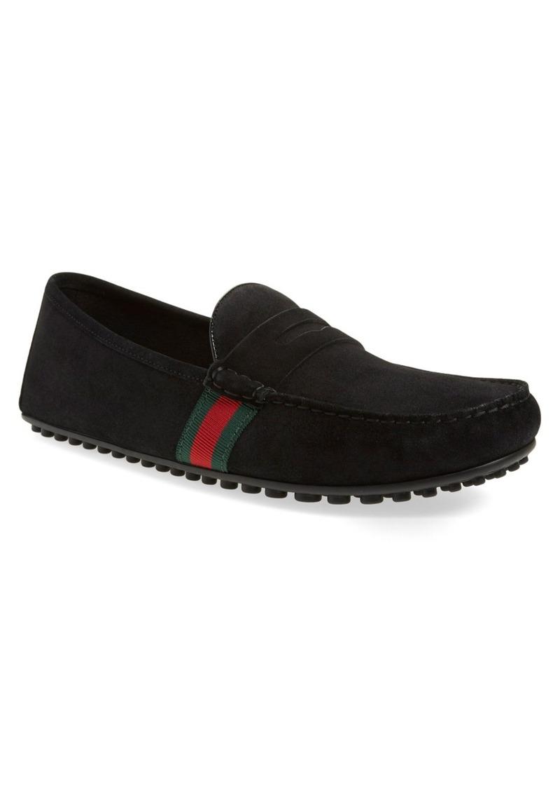 gucci gucci 39 kanye 39 driving shoe men shoes shop it to me. Black Bedroom Furniture Sets. Home Design Ideas