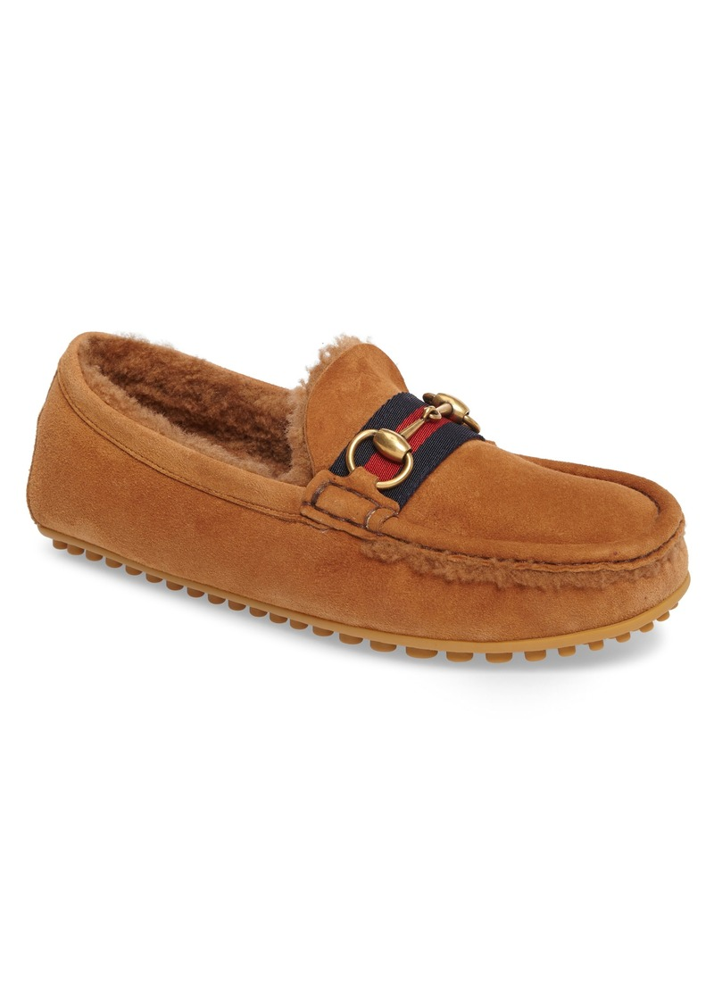 345a7070c15 SALE! Gucci Gucci Kanye Driving Shoe with Genuine Shearling (Men)