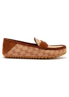 Gucci Kanye GG Supreme loafers