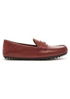 Gucci Kanye leather loafers