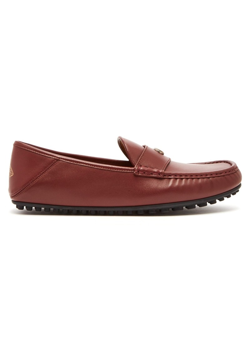 49360e98f72 Gucci Gucci Kanye leather loafers